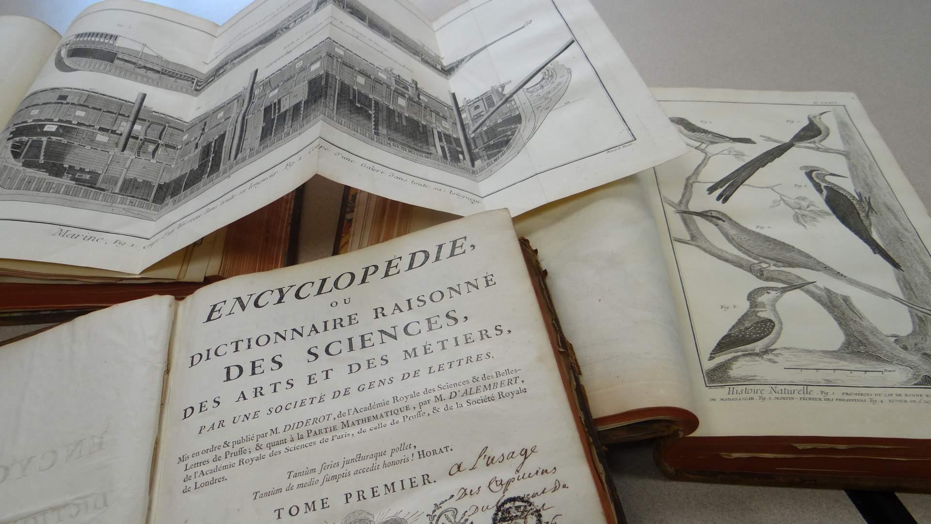 Trésors de la Bibliothèque : l'Encyclopédie de Diderot et d'Alembert |