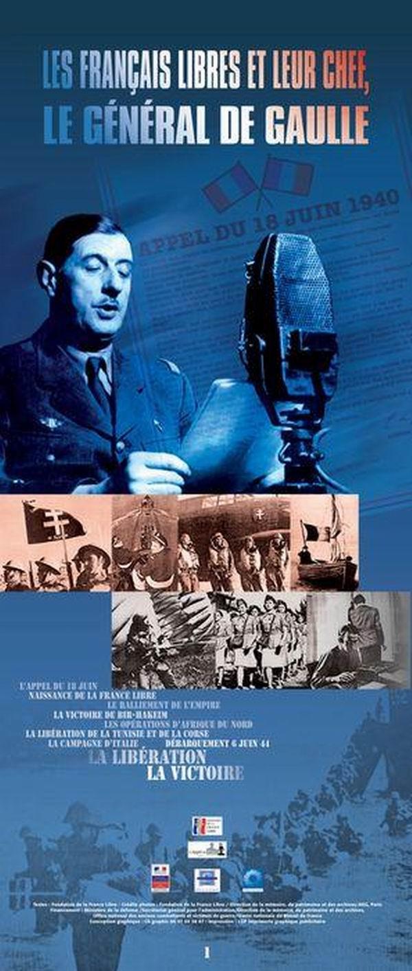 Les Français libres et leur chef, le Général de Gaulle (Concours national de la Résistance et de la Déportation) |