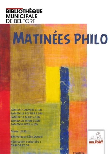 Matinées philo - Des valeurs universelles ? |
